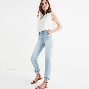 Madewell Perfect Summer Jean in Fitzgerald Wash